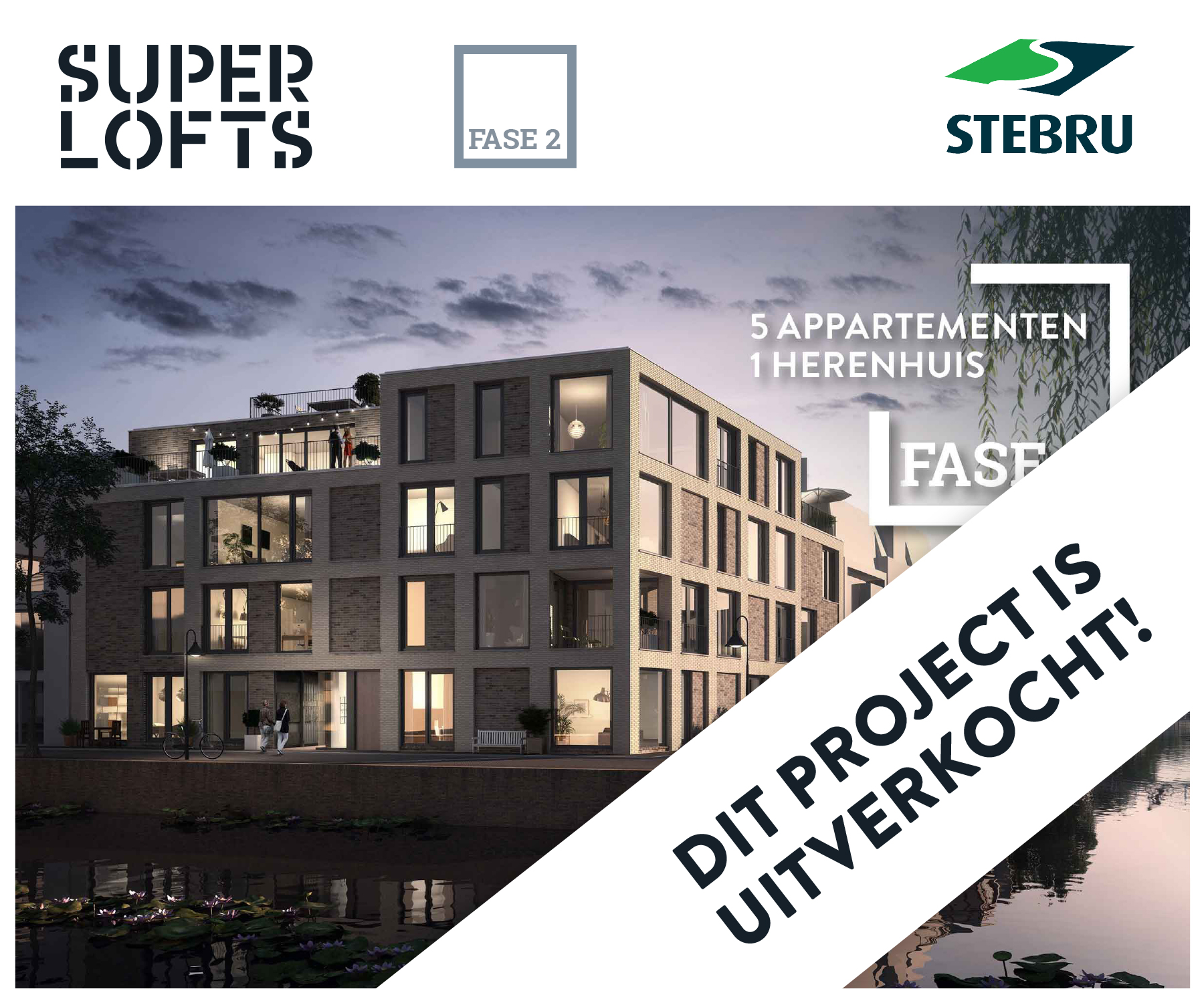 Superlofts Delft - Dit project is uitverkocht